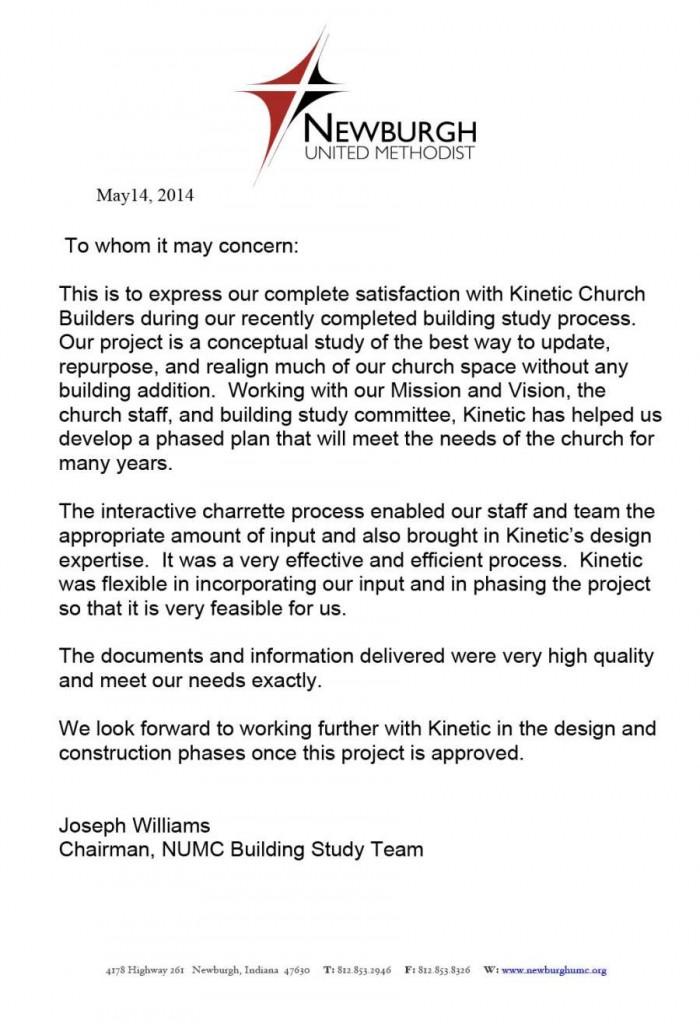 TESTIMONIALS | Kinetic church design + construction